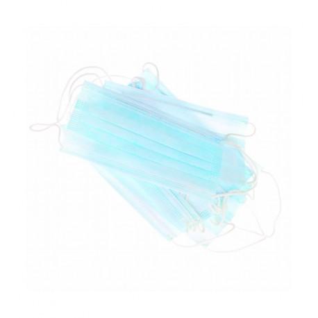 Masques à Lanières 50Pcs Bleu
